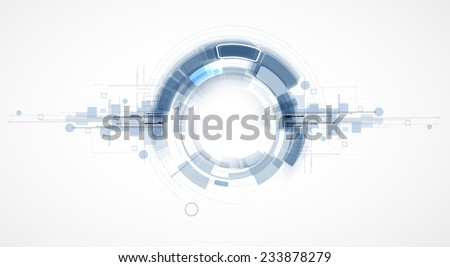 Integration and innovation technology. Best ideas for Business presentation model - stock vector