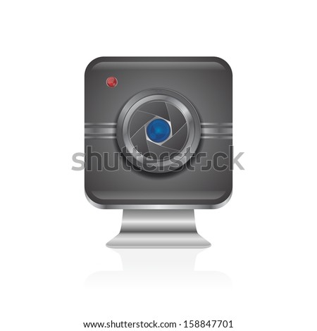 interface camera lens icon application