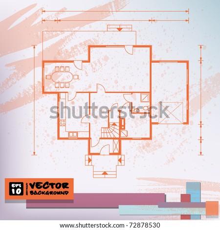 interior background. vector. EPS10 - stock vector