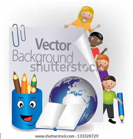 International Education - stock vector