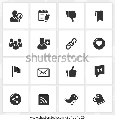 Internet and web site vector icons. File format is EPS8.