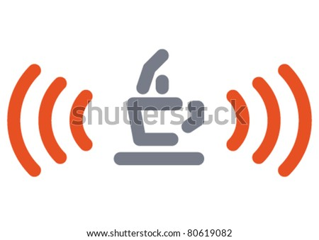 Internet cafe sign - stock vector