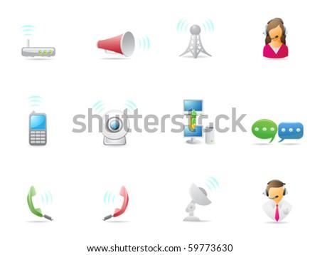 Internet & Communications icon - stock vector