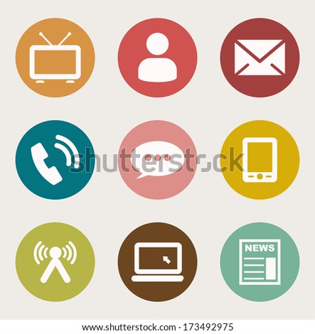 Internet icon  - stock vector