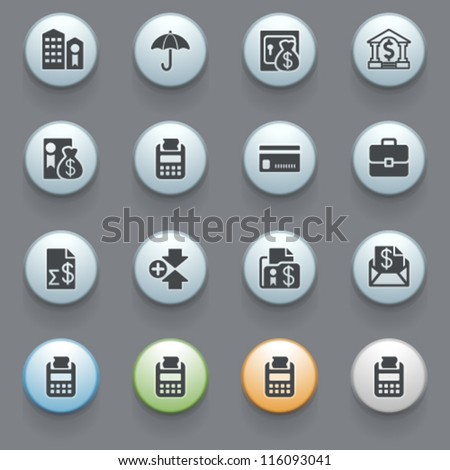Internet icons for web site, set 4. - stock vector