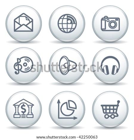 Internet label 5 - stock vector