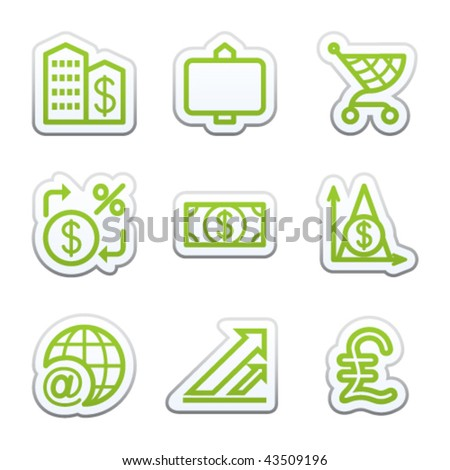 Internet sticker 23 - stock vector