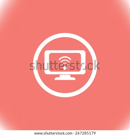Internet vector icon Internet vector icon - stock vector