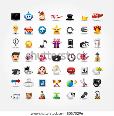 Internet & Website icons,Web Icons, icons Set