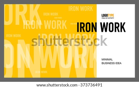 Introducing Presentation Slide 2 - stock vector