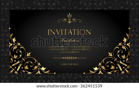 Invitation Card Design Stock Images, Royalty-Free Images & Vectors ...