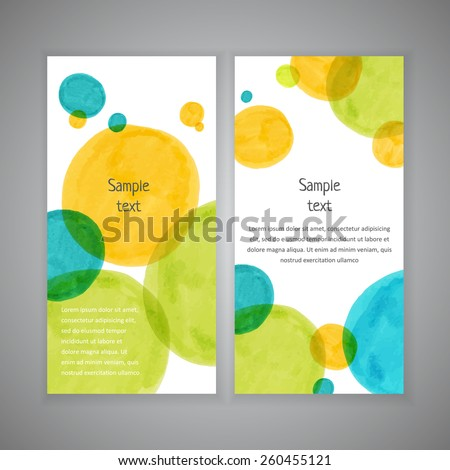 Invitation card design with hand-drawn marker vector spots background. Vector design template for card, letter, banner, menu. Eps10 banner texture background. - stock vector