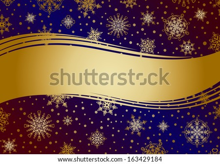 Invitation card golden snowflakes new year stock vector 163429184 invitation card with golden snowflakes new year and christmas background stopboris Choice Image