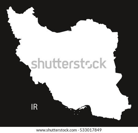 Map Iran Stock Images RoyaltyFree Images Vectors Shutterstock - Map of iran