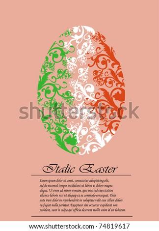Irish easter greeting card stock photo photo vector illustration irish easter greeting card m4hsunfo