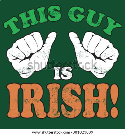 irish guy