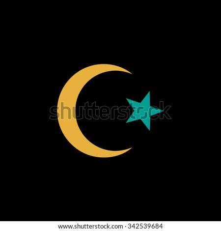 Islam Symbol Color Vector Icon On Stock Photo Photo Vector