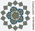 Islamic Floral Ornament. Jpeg Version Also Available In Gallery. - stock vector