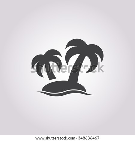 island icon stock vector royalty free 348636467 shutterstock