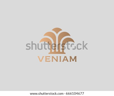 Island Palm Tree Park Spa Beach Stock Vector 666104677 - Shutterstock