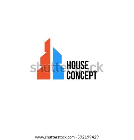 round realtor logo blue transparent background