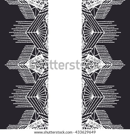 Illustration education concept modern word cloud stock for Border lace glam