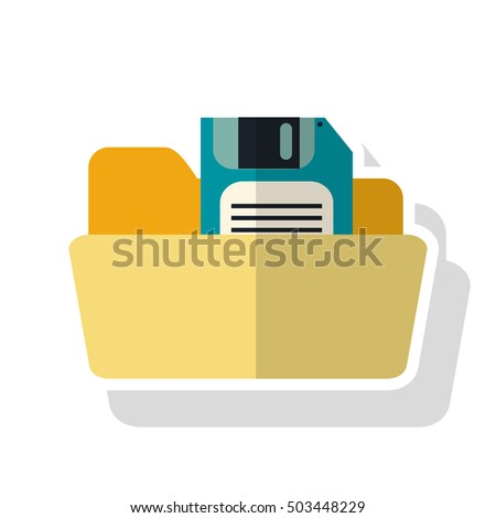 Isolated diskette and file design