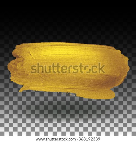 Isolated golden background - stock vector