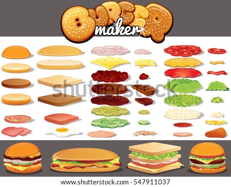 Build Your Own Burger Fast Food