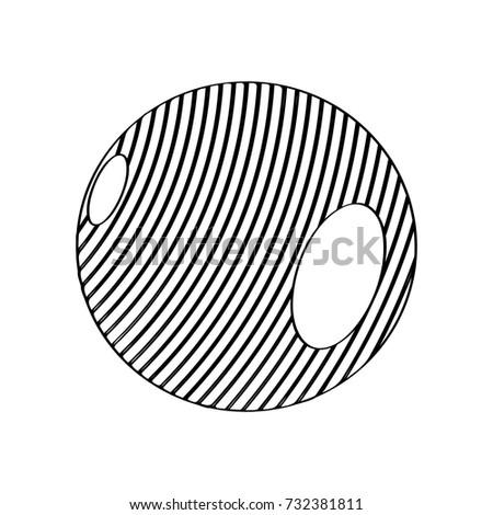 isolated medicine ball icon on white stock vector 732381811 rh shutterstock com Vector Heart Beat Toothbrush Vector