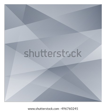 Isolated vector polygonal rectangle that consists of gradient triangles forming the pattern. Background image is well suited for the web or for print products.