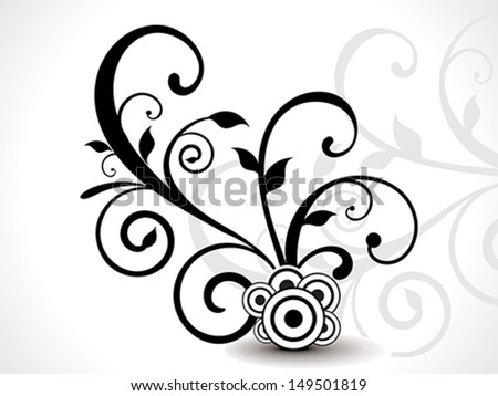 Isoleted Floral design vector illustration