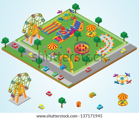 isometric Carnival