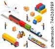 isometric logistics composition ...