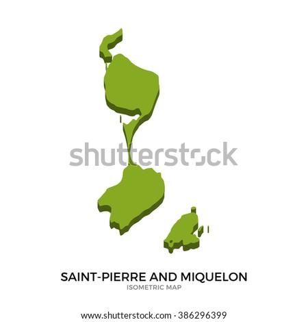 Saint Pierre And Miquelon Stock Images RoyaltyFree Images - Saint pierre and miquelon map