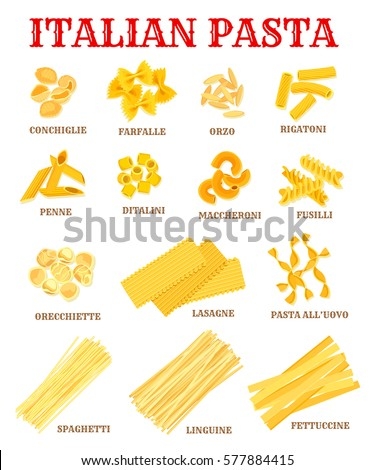 Worksheets List Of Images Shapes And The Names list of names stock images royalty free vectors italian pasta different shapes with cuisine macaroni poster spaghetti