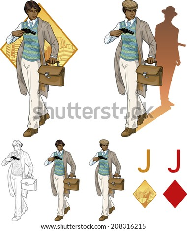 Vector three races as women stock illustration royalty free - Negroidal Stock Photos Royalty Free Images Amp Vectors