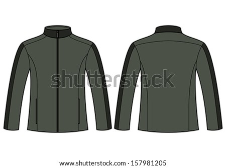 Jacket Template Stock Images, Royalty-Free Images & Vectors ...