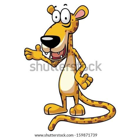 Cartoon jaguar Stock Photos Images