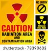 japan nuclear reactor explosion - stock photo