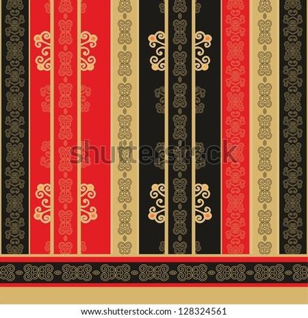 japanese pattern - stock vector