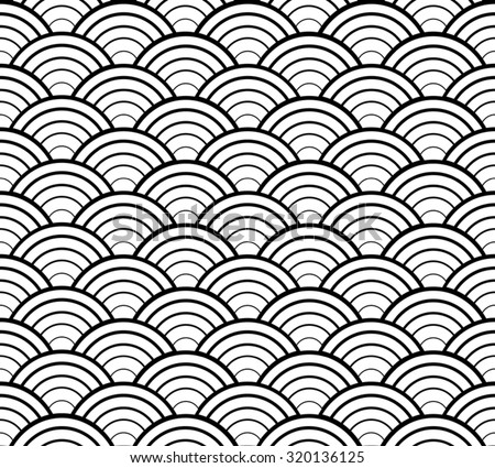 Japanese Seamless Background Pattern Design