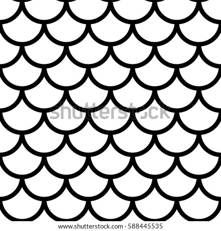 japanese traditional ornament seamless pattern black ベクター画像