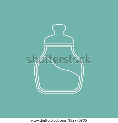 Jar for bulks icon