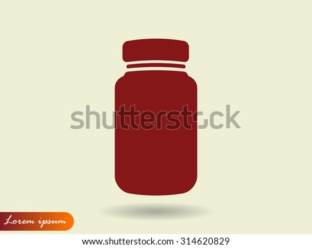 jar vector icon 10 EPS