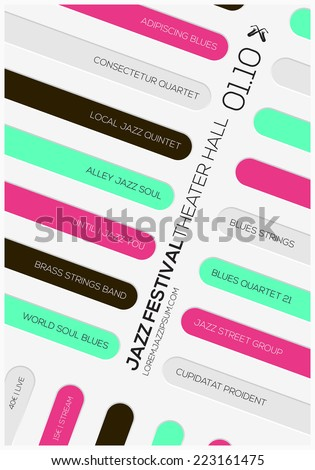 Layers Diagram Colorful Stock Vector 109453097 - Shutterstock