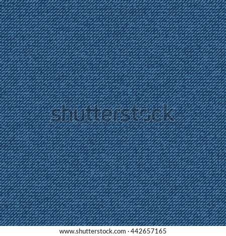 Jean seamless pattern for texture and background. - stock vector