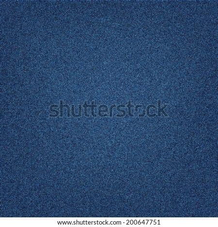 jeans texture denim blue background. vector illustration eps10 - stock vector
