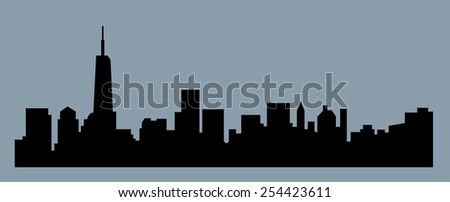 Jersey City, New Jersey - stock vector