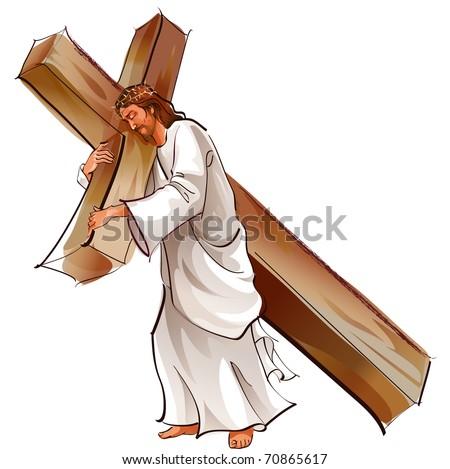 Jesus - stock vector